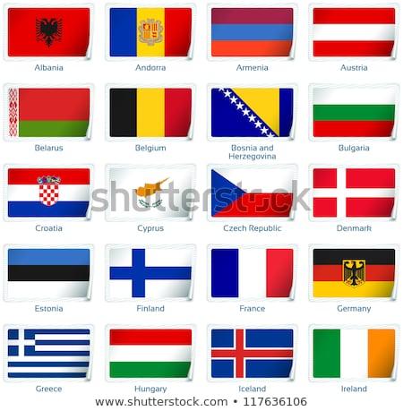 Андорра флаг Мир флагами коллекция текстуры Сток-фото © dicogm