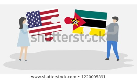 USA and Mozambique Flags in puzzle Stock photo © Istanbul2009