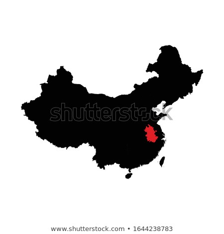 Map of People's Republic of China - Anhui province Stock photo © Istanbul2009