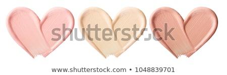 Kozmetikai folyadék smink alap izolált fehér Stock fotó © tetkoren