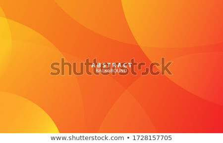 Orange vector background Stock photo © ThomasAmby