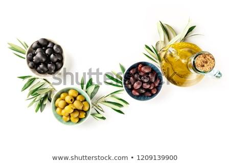 various marinated olives stock photo © smuki