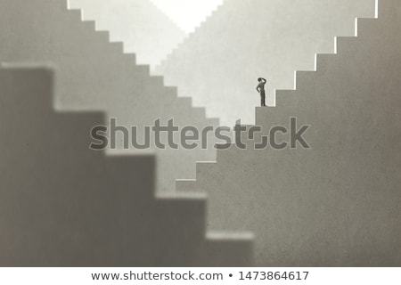Perdido memoria demencia ciego humanos Foto stock © Lightsource