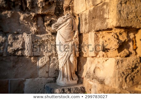 ruins of ancient salamis famagusta district cyprus stock photo © kirill_m