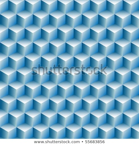 Cubes rows optical illusion background  Stock photo © shawlinmohd