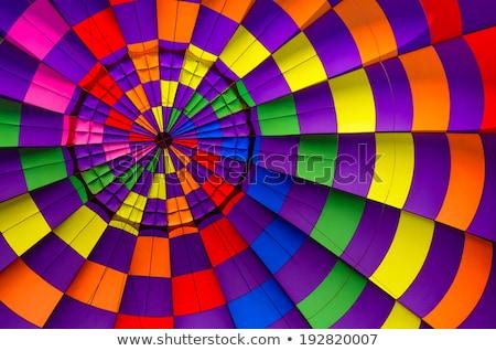 colorido · balões · verde · tecido · bubbles · lata - foto stock © user_9323633