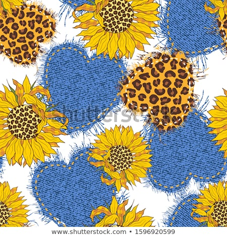 Sunflowers collage stock photo © ldambies
