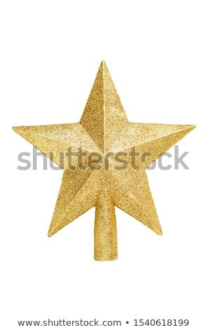 Star Christmas tree Stock photo © alphaspirit