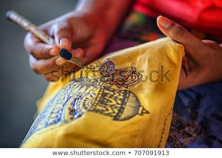 Sri Lanka vidék zászló térkép forma szöveg Stock fotó © tony4urban