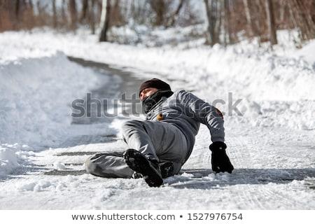 黒 氷 事故 画像 2 車 ストックフォト © cteconsulting