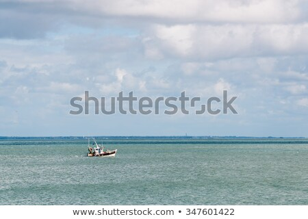 Fishing boat off the island of Noirmoutier Stock photo © dutourdumonde