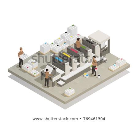 dienst · personeel · afgedrukt · uitrusting · business · kantoor - stockfoto © Paha_L