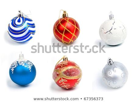 Christmas balls .embellishment cristmas Stock photo © fanfo