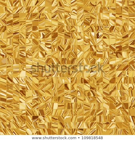 Abstract gold colored mosaic background. EPS 8 Stock photo © beholdereye