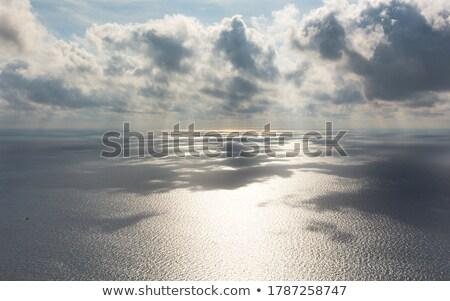Tengeri kilátás felhők tenger kék víz égbolt Stock fotó © vapi