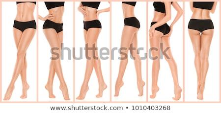 Bella ragazza gambe ritratto attraente ragazza Foto d'archivio © filipw