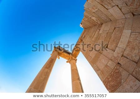 the temple of apollo at kourion limassol district cyprus stock photo © kirill_m