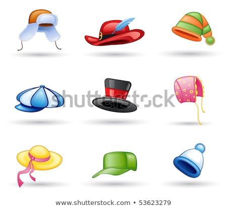 ピンク マジシャン 帽子 実例 白 ストックフォト © bluering