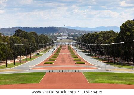 Canberra Austrália rua corrida australiano Foto stock © kraskoff