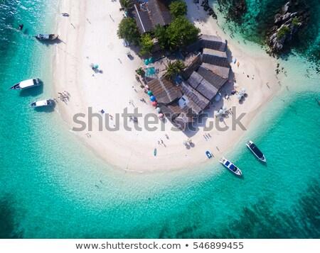 görmek · plaj · phuket · ada · Tayland · uzun - stok fotoğraf © mikko