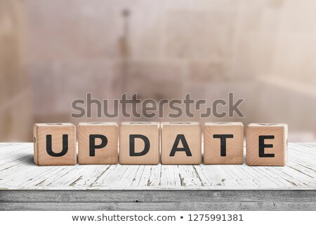 latest update word isolated stock photo © tang90246