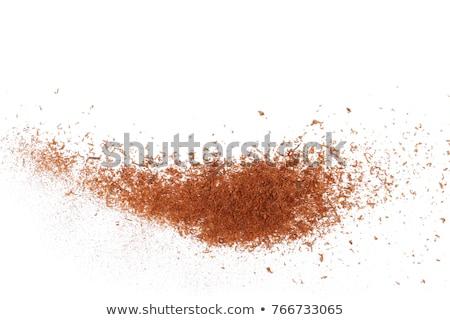 Top view texture of dry ground Stock photo © stevanovicigor