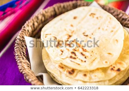 Harina tabla de cortar Foto stock © Digifoodstock