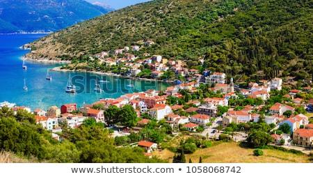 красивой острове живописный деревне впечатляющий воды Сток-фото © Freesurf