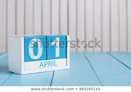 1 April Fools Day Calendar reminder Stock photo © orensila