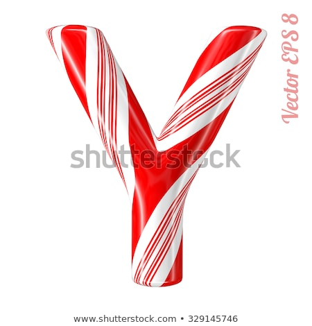 letter y candies stock photo © olena