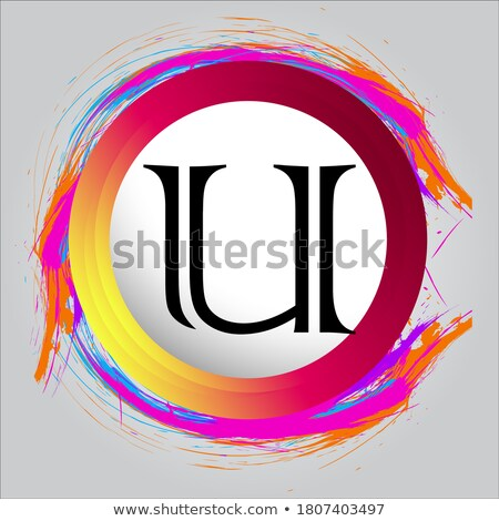 creative logo letter u design for brand identity company profil stock photo © davidarts