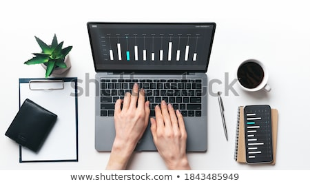 Laptop Screen with SEO Specialist Concept. Stock photo © tashatuvango