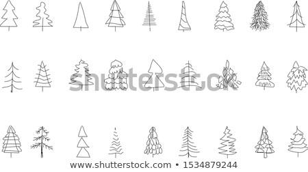 Zimą trójkąt wzór niebieski bezszwowy Płytka Zdjęcia stock © Glasaigh