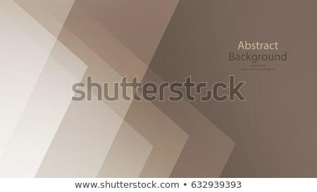 Soyut geometrik kahverengi güneş sanat Stok fotoğraf © alexmillos