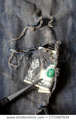 Tweezers and Dollar Stock photo © devon