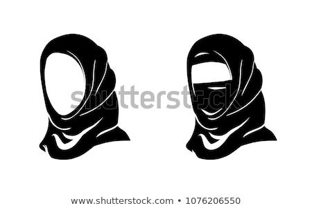 Nun women_sns Stock photo © toyotoyo