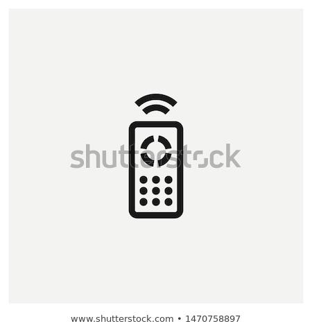 remote · wireless · plastica · telecomando · sfondo - foto d'archivio © smoki