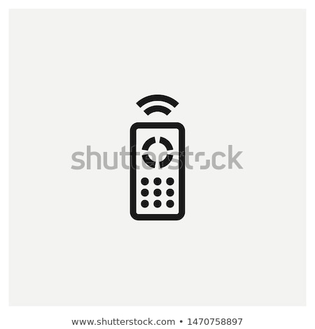 Telecomando icona auto bianco metal sicurezza Foto d'archivio © smoki