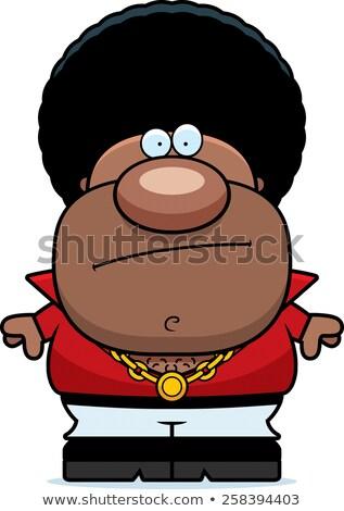 Cartoon disco man vervelen illustratie naar Stockfoto © cthoman