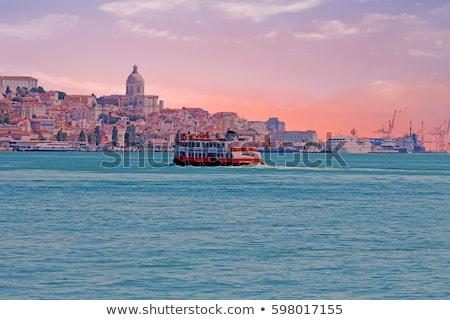 Лиссабон паром лодка Португалия реке воды Сток-фото © joyr