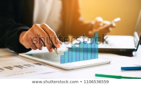 impôt · processus · comptables · calcul · analyse · données - photo stock © -talex-