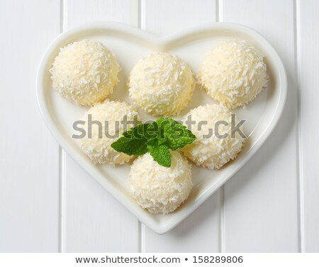 cookies with coconut sprinkles stock photo © alex9500