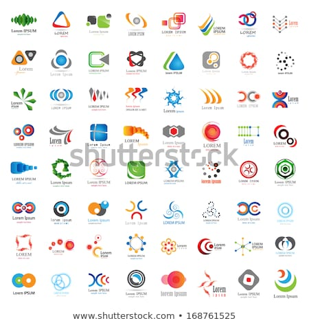 spiral circle colorful business abstract logo icon stock photo © blaskorizov