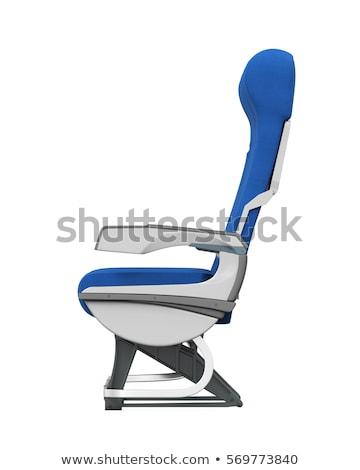 An plane seat interior Stock photo © bluering