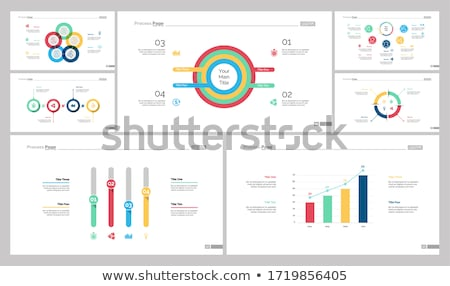Statistic Web Pages with Text Sample, Infographics Stock photo © robuart