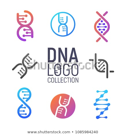 science day concept illustration with dna strand stock photo © cienpies