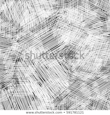 Vector seamless pattern with abstract shapes and scribbles. Creative textures. Stains of paint, ink. Stock photo © user_10144511