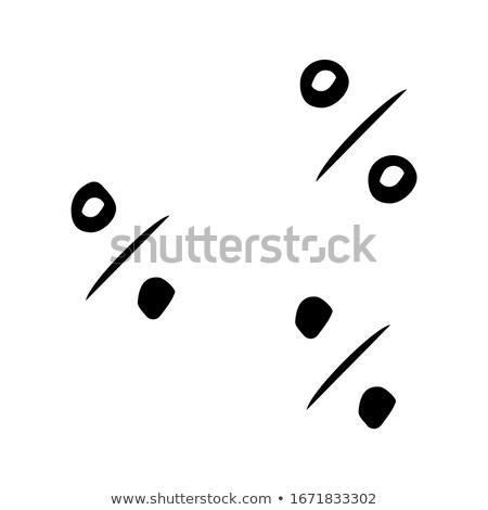 vector black 100 scribbles objects set stock photo © vetrakori