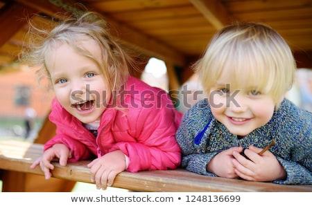 Anaokulu ayarlamak kız hızlı kişisel Stok fotoğraf © toyotoyo
