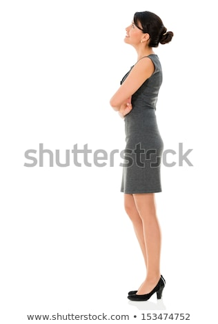 Thoughtful Businesswoman Looking Up Stock photo © AndreyPopov